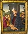Lorenzo di credi, adorazione del bambino e angeli, 1523, Q48, 01.JPG
