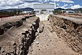 Los Alamos excavated trench (7515681666).jpg