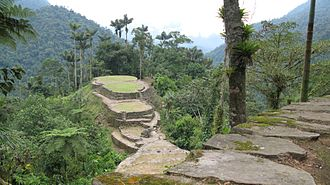 Indigenous peoples in Colombia - Image: Lost City Ruins