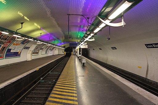 Louis Blanc metro station