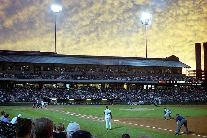 Louisville slugger field evening 2002
