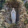 lourdesgrot, beeld van maria - zundert - 20346955 - rce
