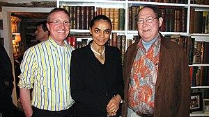 Stephen Schneider - Schneider (right) with Thomas Lovejoy and Marina Silva
