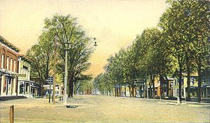 Poultney (town), Vermont - Lower Main Street c.1906