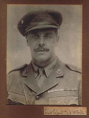 Royal North Devon Yeomanry - Image: Lt Col Collis George Herbert St Hill Royal North Devon Hussars Died 1917