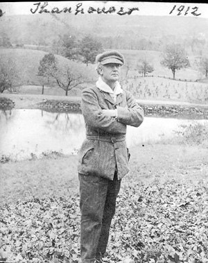 Lucius J. Henderson - Lucius Henderson in October 1912, during the making of The Forest Rose