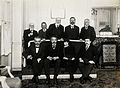 Lunch in honour of Albert Einstein, with (front row) Langevi Wellcome V0028220.jpg