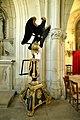Lutrin dans l'église Saint-Germain de Saint-Germain-Langot.jpg
