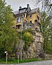 Luxembourg City 20 rue des Glacis from below.jpg