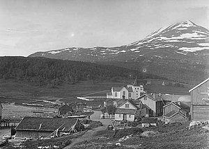 Lyngen - Lyngseidet as it looked around 1890
