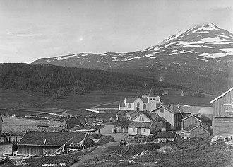Lyngen - Lyngseidet as it looked around 1890