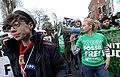 Lynn Ruane at Stop Climate Chaos march in Dublin November 2015.jpg