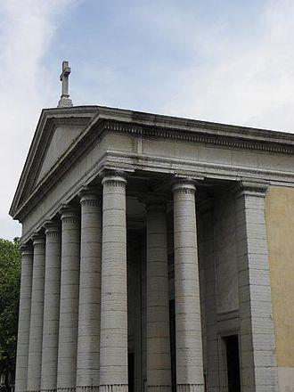Église Saint-Pothin - Facade of the church