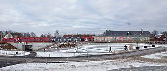 Måløv station - Måløv Station, view from South