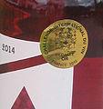 Médaille d'or au challenge international du vin 2015.jpg