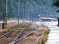 Měchenice, nádraží, po dešti.jpg