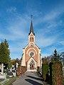 Městský hřbitov ČK - hřbitovní kaple 02.jpg
