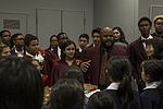 M.C. Perry, Japanese students spread holiday spirit throughout MCAS Iwakuni 161207-M-RP664-0120.jpg