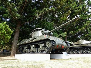 M36 Tank Destroyer Display in Chengkungling 20131012.jpg