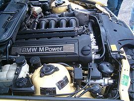 Ο κινητήρας των 3,2 λίτρων μιας μ3 του 1996