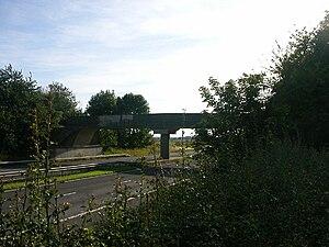 M45 motorway - One of the original Owen Williams bridges