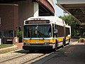 MBTA route 39 bus at Forest Hills station, July 2007.jpg