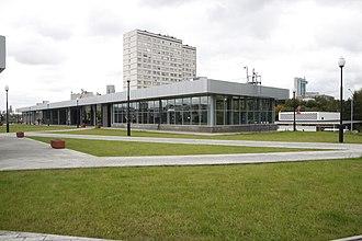 Ploshchad Gagarina (Moscow Central Circle) - Image: MCC 13GAGA 6994 DIST