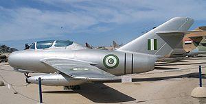 Пакистански МиГ-15 в израелски музей