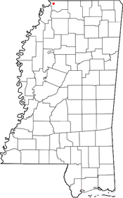 Location of Walls in the State of Mississippi