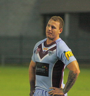Matt Minto Australian rugby league player