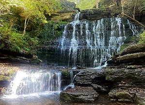 Coffee County, Tennessee - Machine Falls at Short Springs State Natural Area