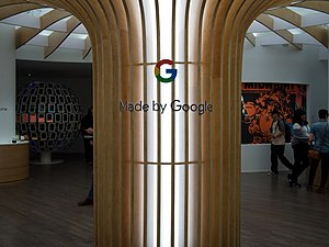 Google Store - Interior of the Made by Google pop-up showroom in New York City