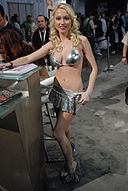 Madison Scott at AVN Adult Entertainment Expo 2009 2.jpg