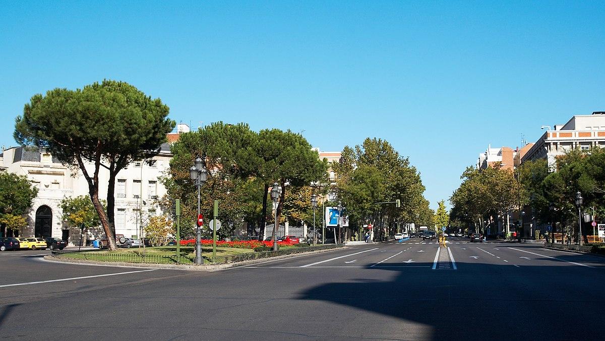 Calle del pr ncipe de vergara wikipedia la enciclopedia - H m calle orense madrid ...