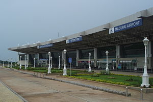 Madurai Airport - Madurai international Airport in 2012