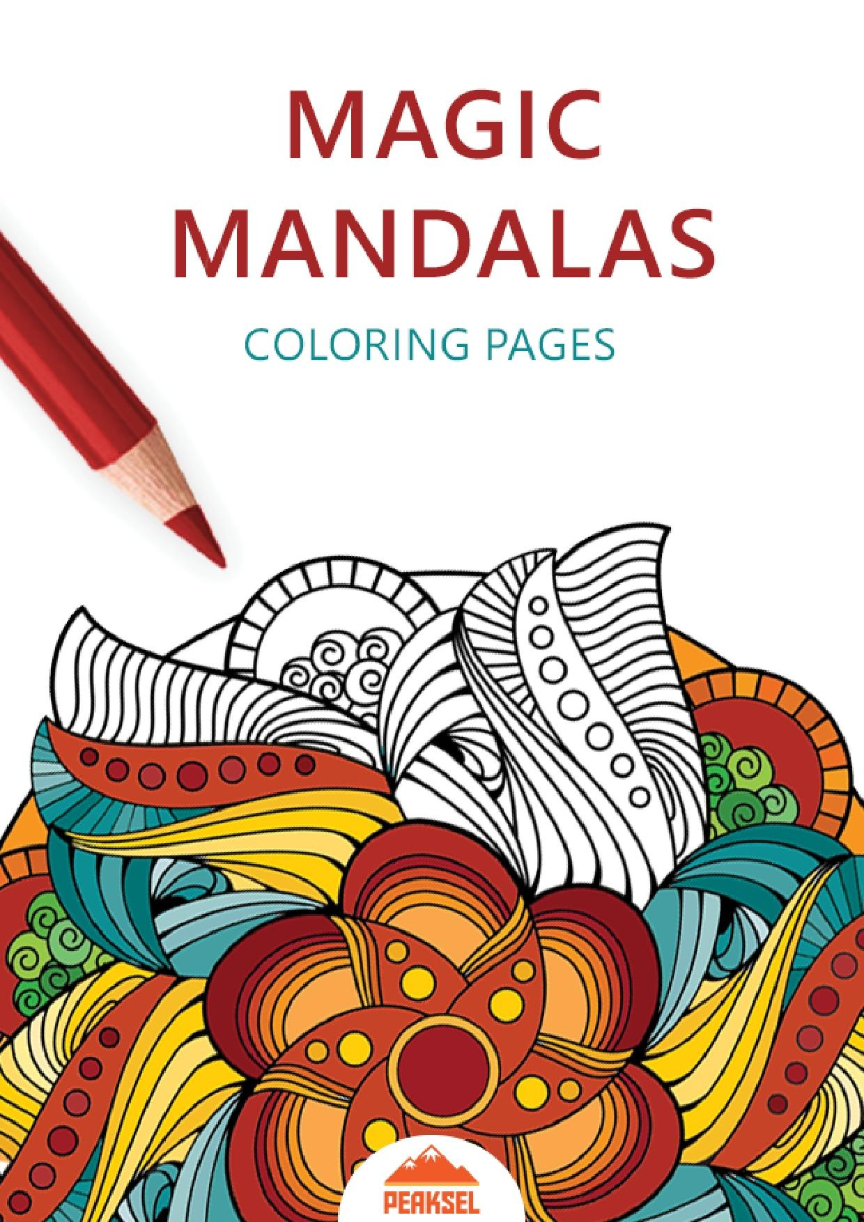 File Magic Mandala Coloring Pages Printable Coloring Book For Adults Pdf Wikimedia Commons