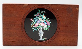 Magic lantern - Magic lantern slide by Carpenter and Westley