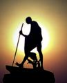 Mahatma Gandhi Silhoutte (dts).png