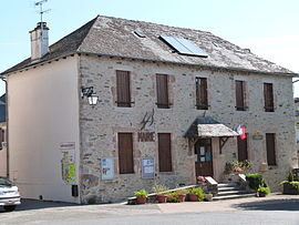 The town hall in La Capelle-Bleys