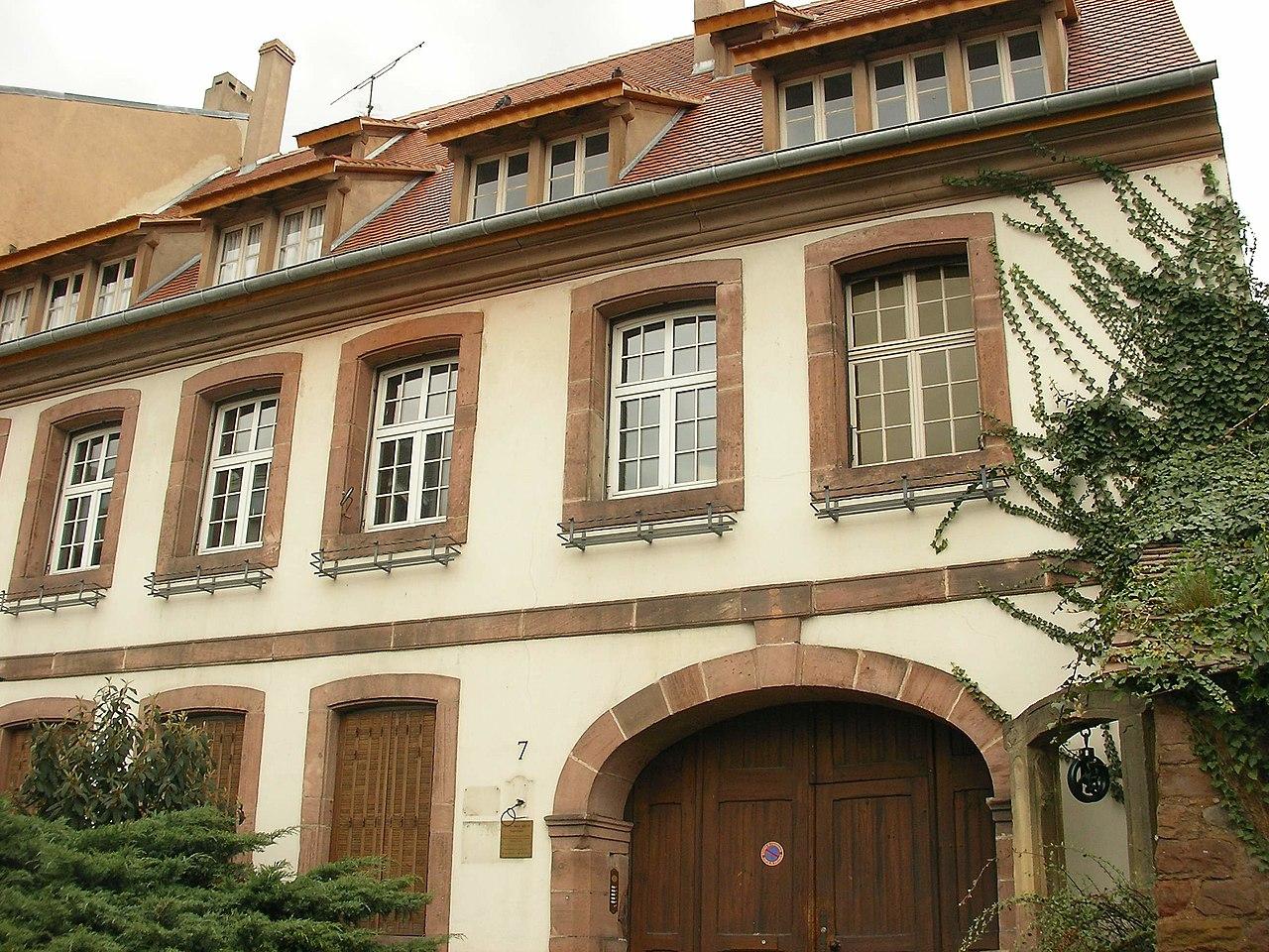 Fichier maison du bourreau 7 rue d 39 unterlinden colmar - Origine du mot maison ...