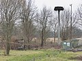 Malchow, Betonmast mit Storchennest 2014-02-19, ama fec.JPG