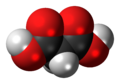 Malonic acid 3D spacefill.png