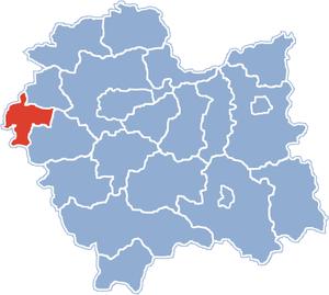 Oświęcim County - Image: Malopolskie oswiecim county