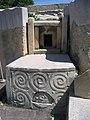 Malte Tarxien Temple Neolithique Spirale Mycenienne 10052009 - panoramio.jpg