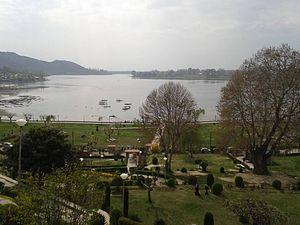 Manasbal Lake - Image: Manasbal Lake