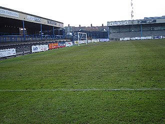 Nuneaton Borough F.C. - Nuneaton's former home ground, Manor Park