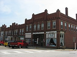 Businesses in the Mantua Station Brick Commercial District