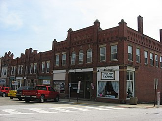Mantua, Ohio - Businesses in the Mantua Station Brick Commercial District