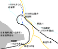 Map around Kanoya station.png