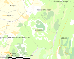 Map commune FR insee code 26023.png